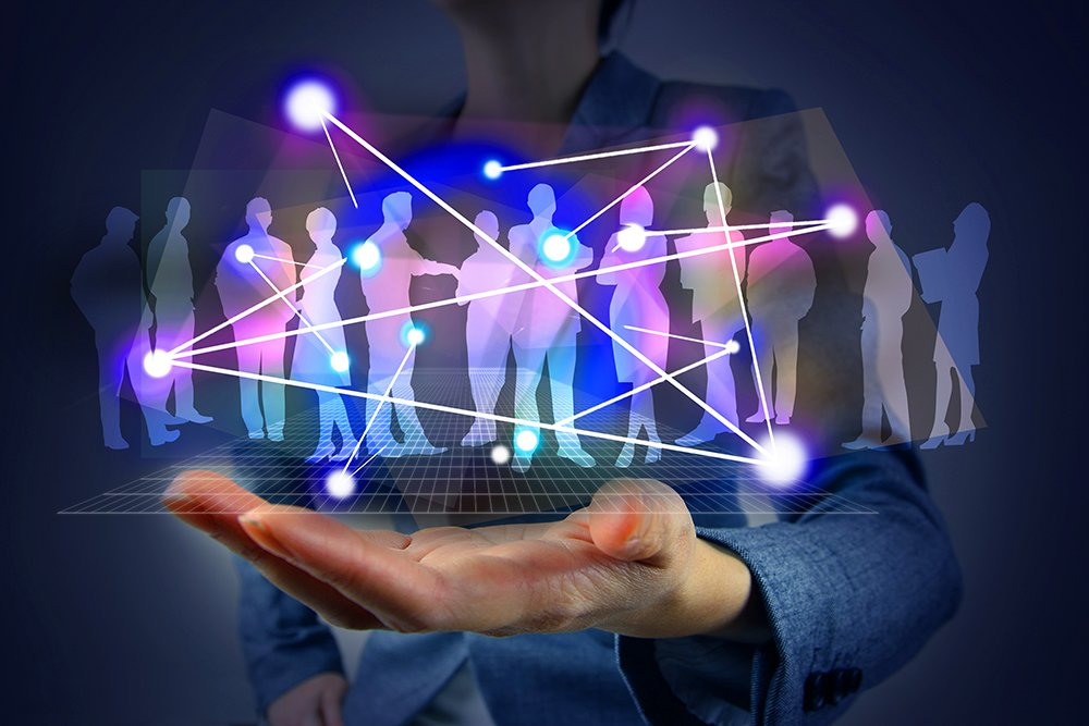 People coming together successfully creating IT solutions